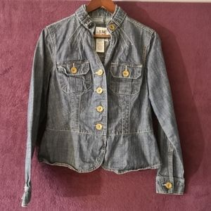 LIVE A LITTLE Jean Jacket, Size Small, NWOT